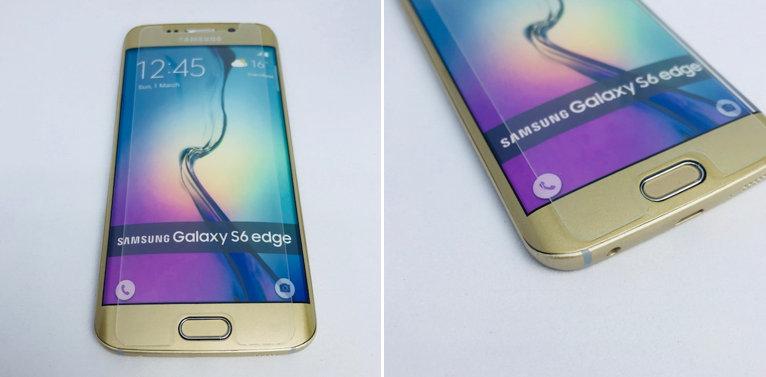 EDGE telefon z nameščenim klasičnim kaljenim steklom - prekriva IZKLJUČNO ravni del ekrana
