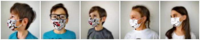 Otroške pralne maske